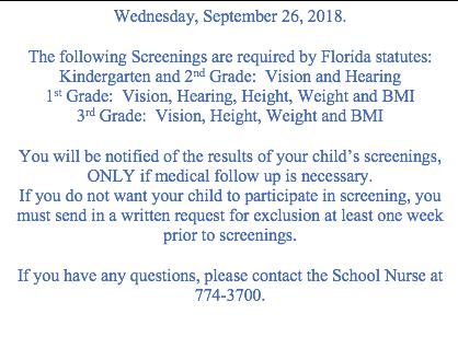 Wednesday September 26th