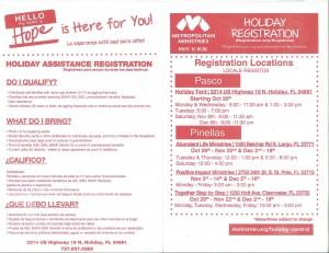 Holiday Registration