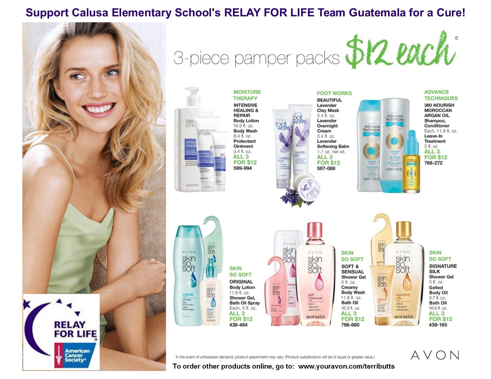 Avon relay fundraiser