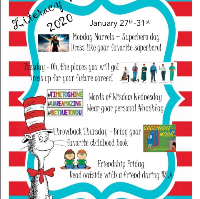 It's Literacy Week!