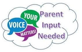 Parent Input Survey – Deadline February 25th