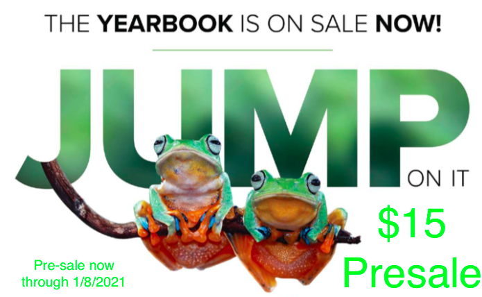 Preorder Yearbook through 1/8/2021